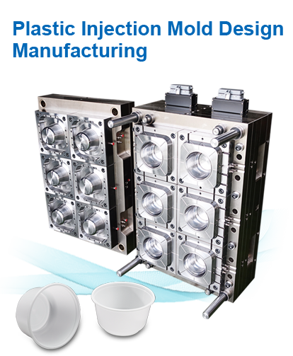 Plastic Injection Mold  Design Manufacturing